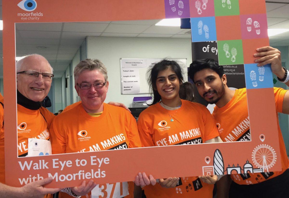 Moorfields Eye to Eye Walk